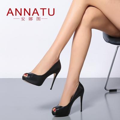 凉鞋高跟鞋女 细跟防水台质量怎么样