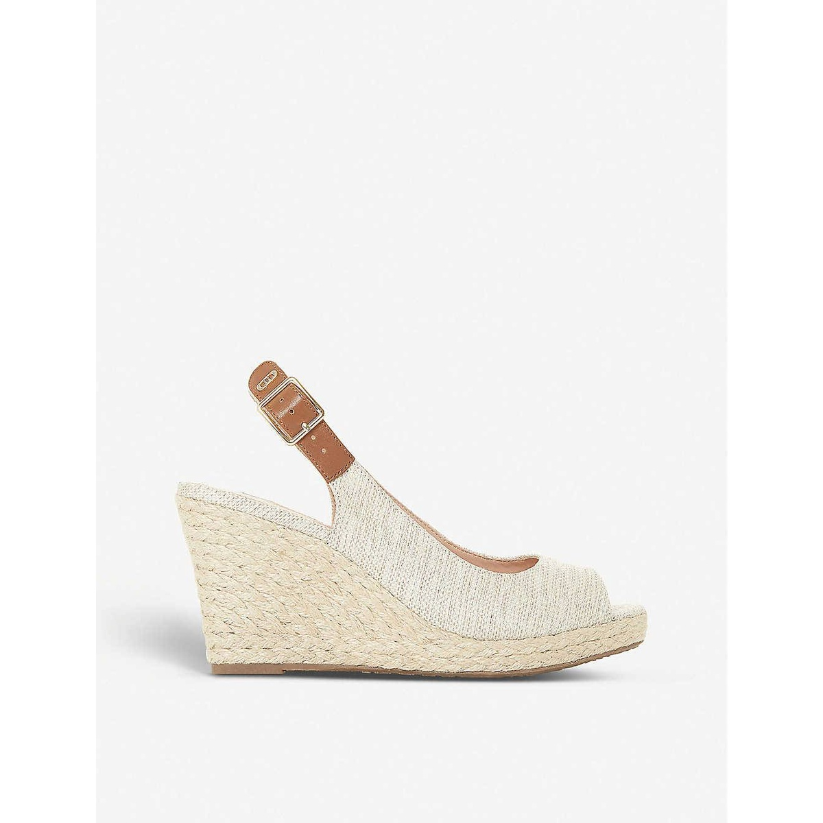 Purchase dune London kicks canvas wedge sandals 2021 new luxury and casual fashion
