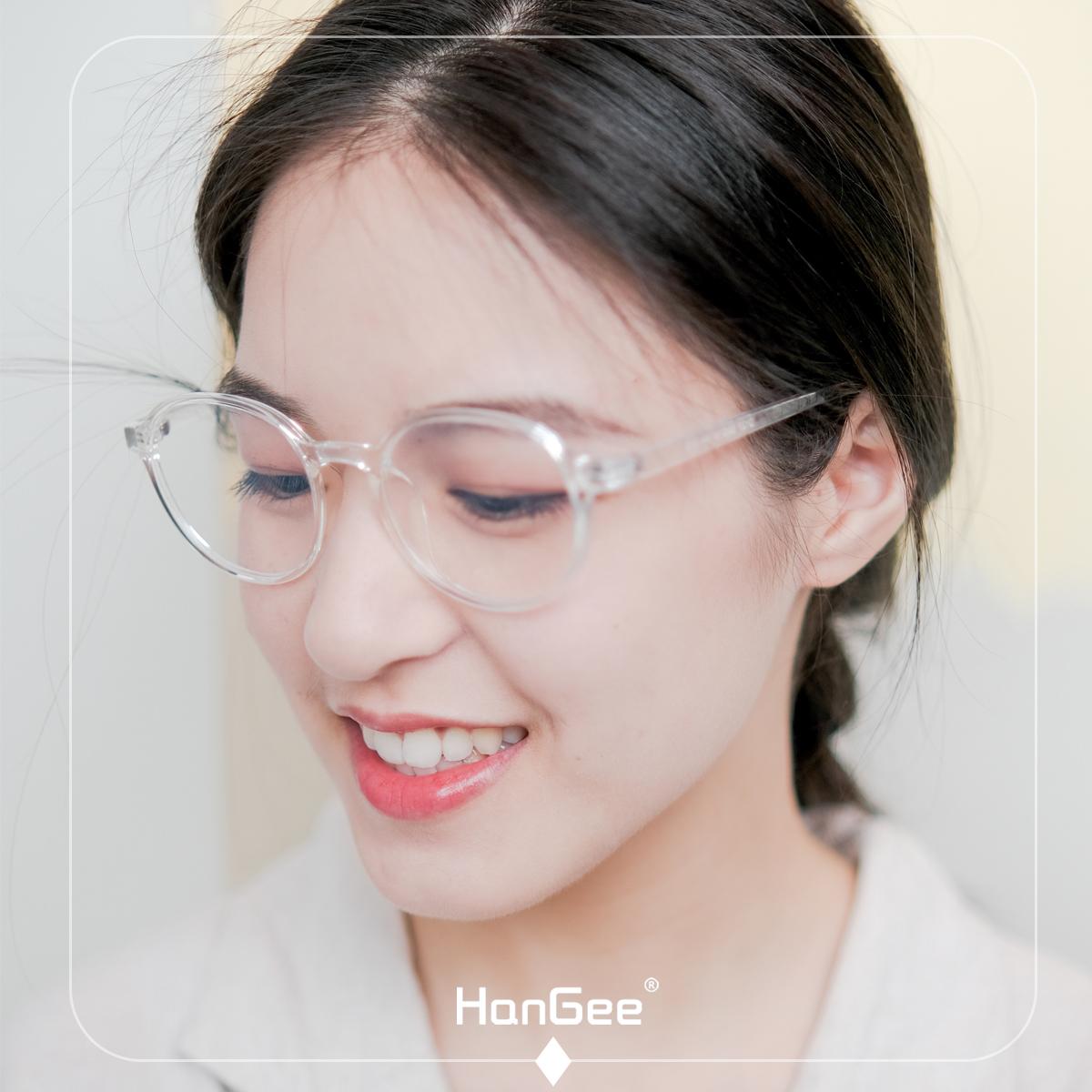 韩姬儿抗辐射女韩版潮电脑眼镜架度数可配眼镜近视护目27xq