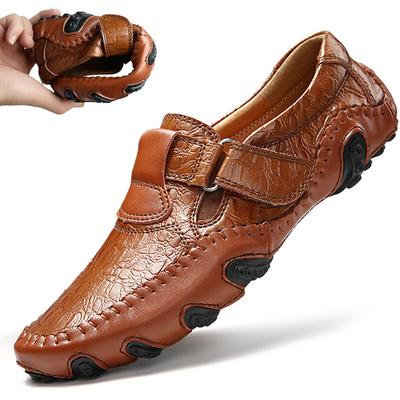春季男士驾车鞋真皮潮流韩版豆豆鞋