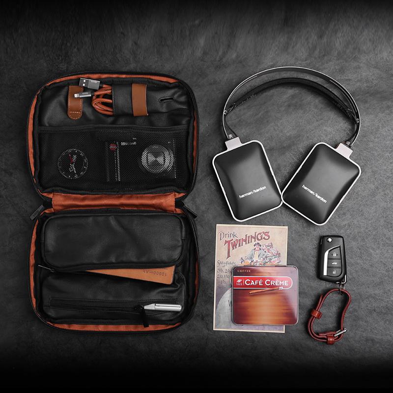 新品dpark数码收纳包 数据线移动电源袋手机耳机线充电器整理盒