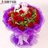 普兰店永新鲜花速递同城桂林梧州北海防城港情人节送花红玫瑰19朵