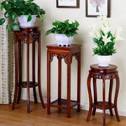 花架实木室内置物架花盆绿萝架子红木头原木质单个落地式客厅中式