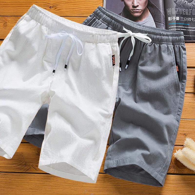 夏季纯棉新款潮流宽松沙滩裤5短裤(用69.1元券)