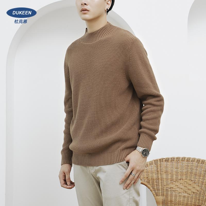 半高领韩版宽松慵懒风秋冬季毛衣