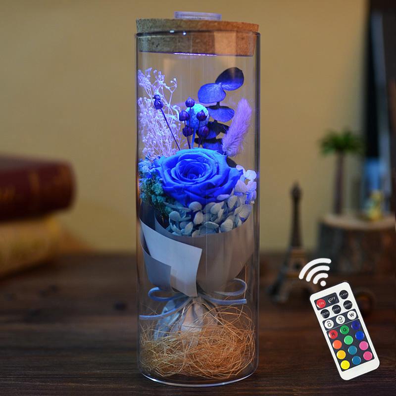永生花玻璃盒