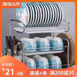 厨房置物架用品用具晾洗放沥水碗架碗柜碗碟碗筷盘刀收纳盒餐具架图片
