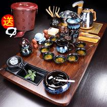 泡茶套装茶具家用全自动一体客厅办公室会客茶几功夫茶盘实木茶台
