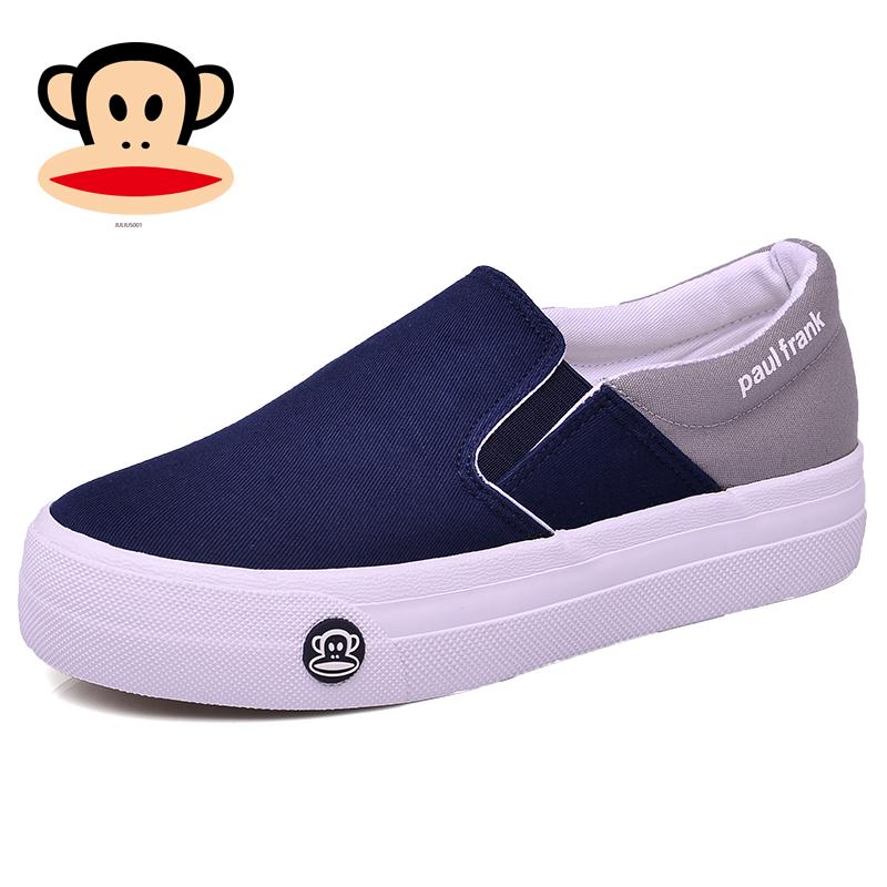 Giày miệng khỉ lớn dành cho nữ 2020 Giày mùa xuân mới giày nữ phiên bản Hàn Quốc của giày lười hoang dã một bàn đạp giày nữ - Plimsolls