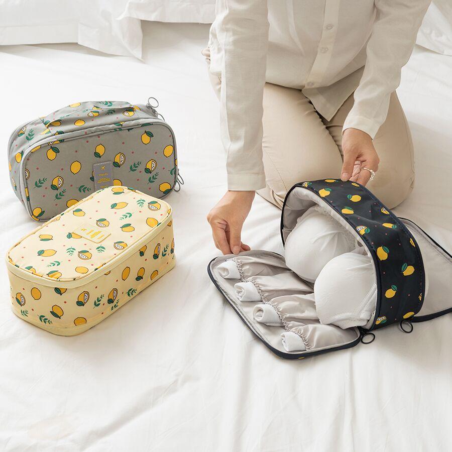 旅行便携式内衣文胸收纳旅行包多功能防水布艺内裤袜子分类整理包