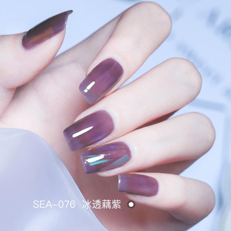 Grape, purple nail polish, purple female, jelly, roast, quick drying, white water, non-toxic and tasteless.