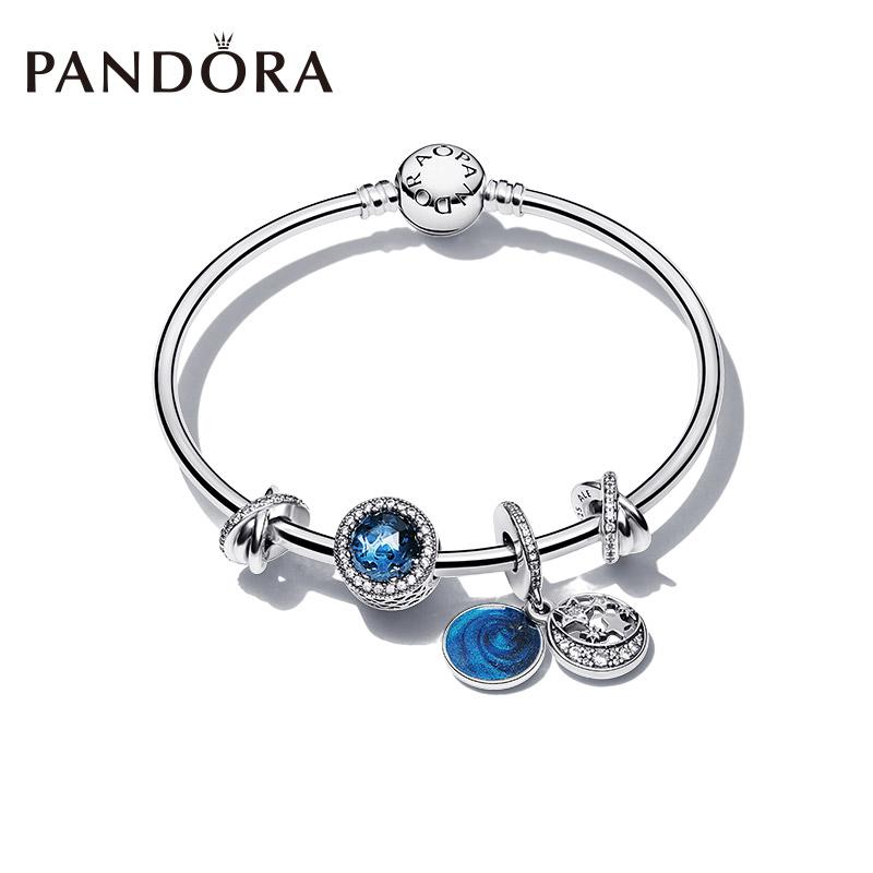 Pandora潘多拉繁星童话ZT0013手镯套装情侣礼物惊喜送女友