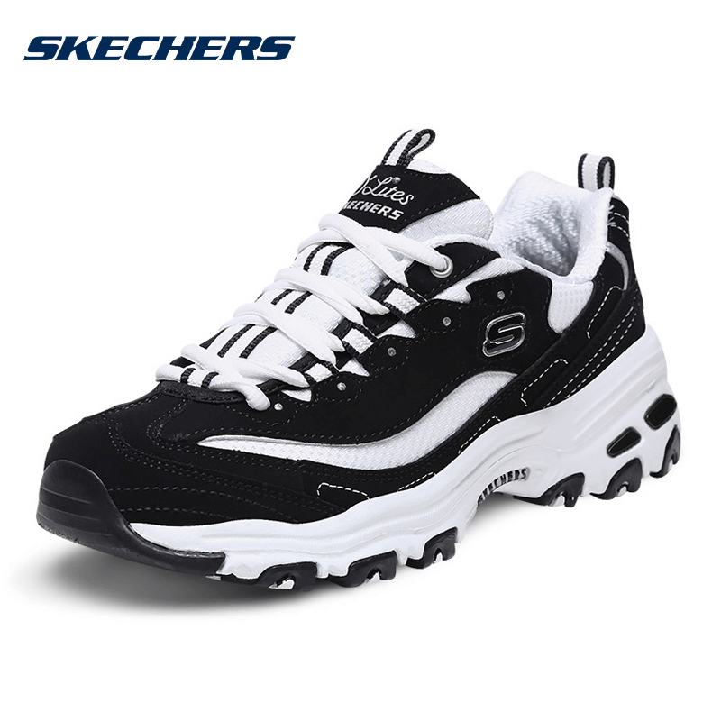 Skecher Skeic official website women's shoes 2021 summer new old shoes sports shoes panda shoes casual shoes