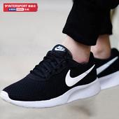 Nike耐克旗舰店男鞋女鞋夏季新款运动鞋网面休闲鞋正品黑色跑步鞋