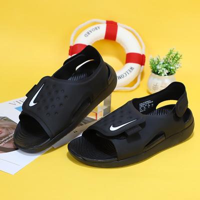 Nike耐克凉鞋2020夏季新款儿童鞋运动鞋魔术贴沙滩鞋小童鞋386520