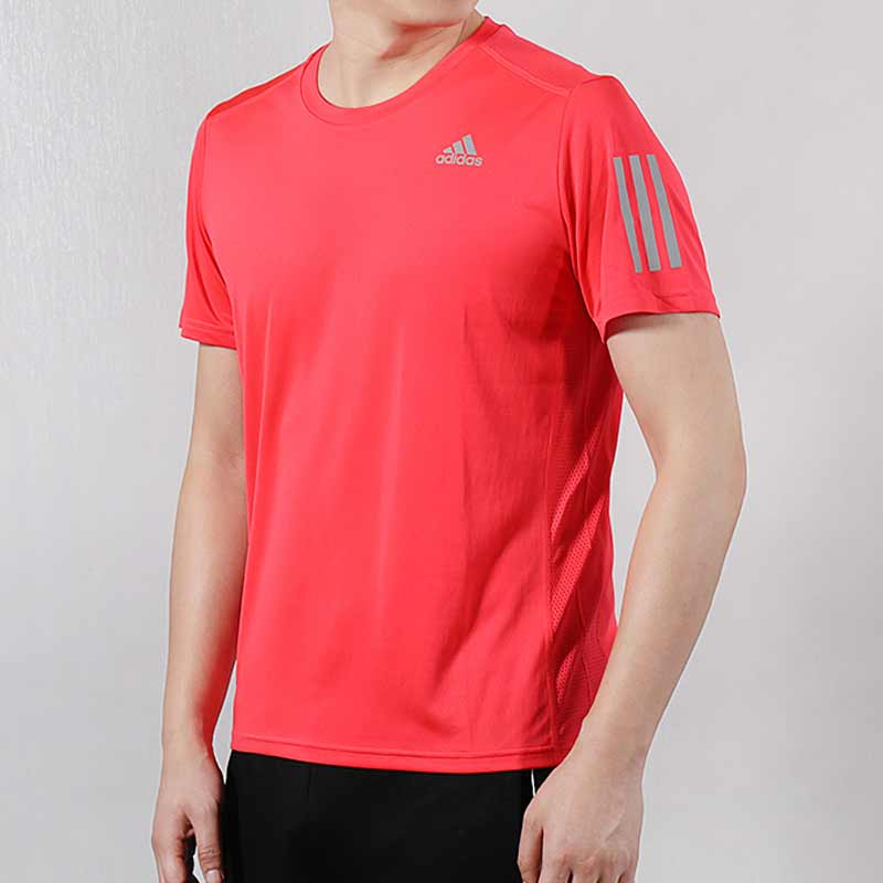 Short sleeved male training, T-shirt, body-building sportswear, blouse, casual, half sleeved running, fast dry T-shirt.
