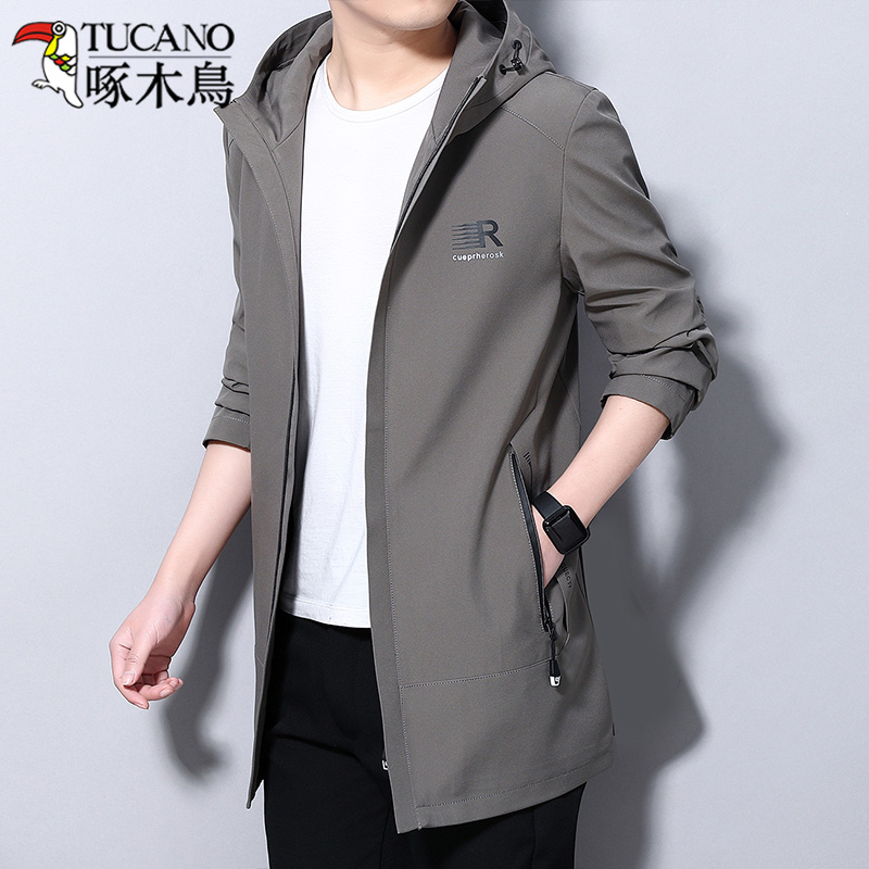 Woodpecker jacket men 2021 spring new casual jacket spring and autumn windbreaker men's spring jacket men's clothes