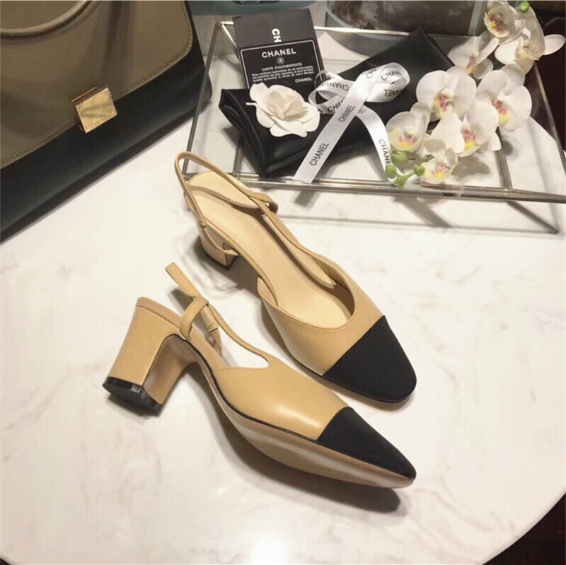 European and American Roman middle heel sandals womens summer thick heel single shoes high heel womens shoes retro flat sole leather single shoes womens shoes