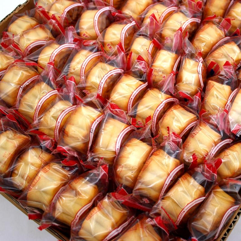 网红小月饼 东北老式糕点零食散装手工制作多口味豆沙糕点10块装