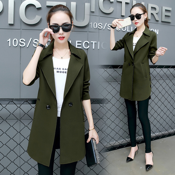Autumn Clothing New Style Leisure Small Suit Women Coat In The Long