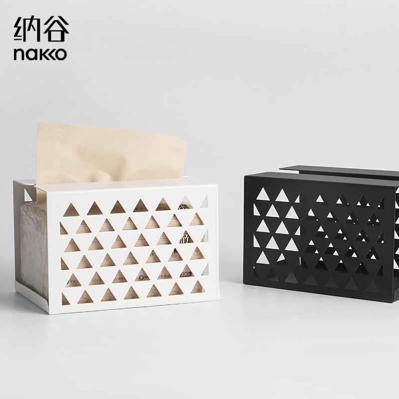 多功能纸巾盒客厅创意家用抽纸盒欧式餐巾纸抽盒北欧