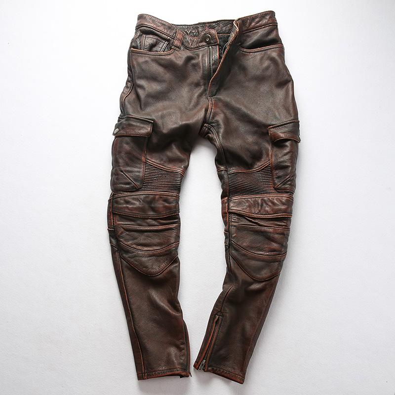 Кожаные брюки Артикул 600056452127