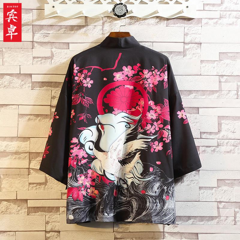 秋季男士外套中国风休闲开衫汉服需要用券