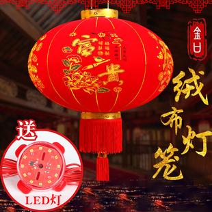 春節大紅燈籠燈吊燈中國風 過年紅燈籠戶外喬遷新居新年大門掛飾