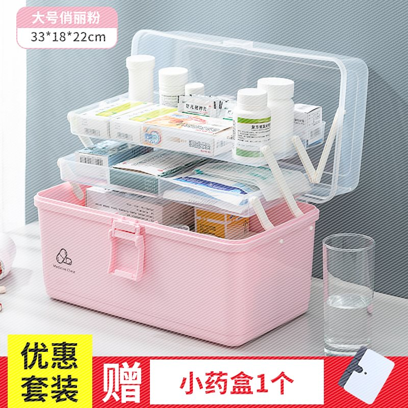 Large family medicine box with medical treatment vehicle kindergarten school disaster prevention first aid disaster prevention supplies set