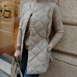 原形轻薄羽绒马甲女短款2020秋冬季新款韩版显瘦背心保暖羽绒服