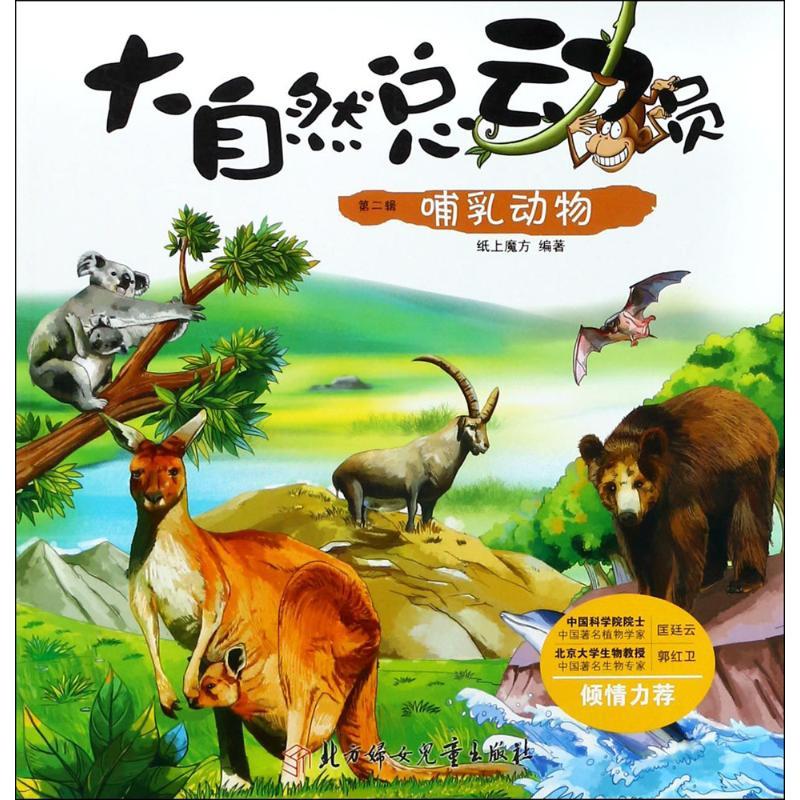 哺乳动物 纸上魔方 编绘 益智游戏少儿 新华书店正版图书籍 北方妇女儿童出版社
