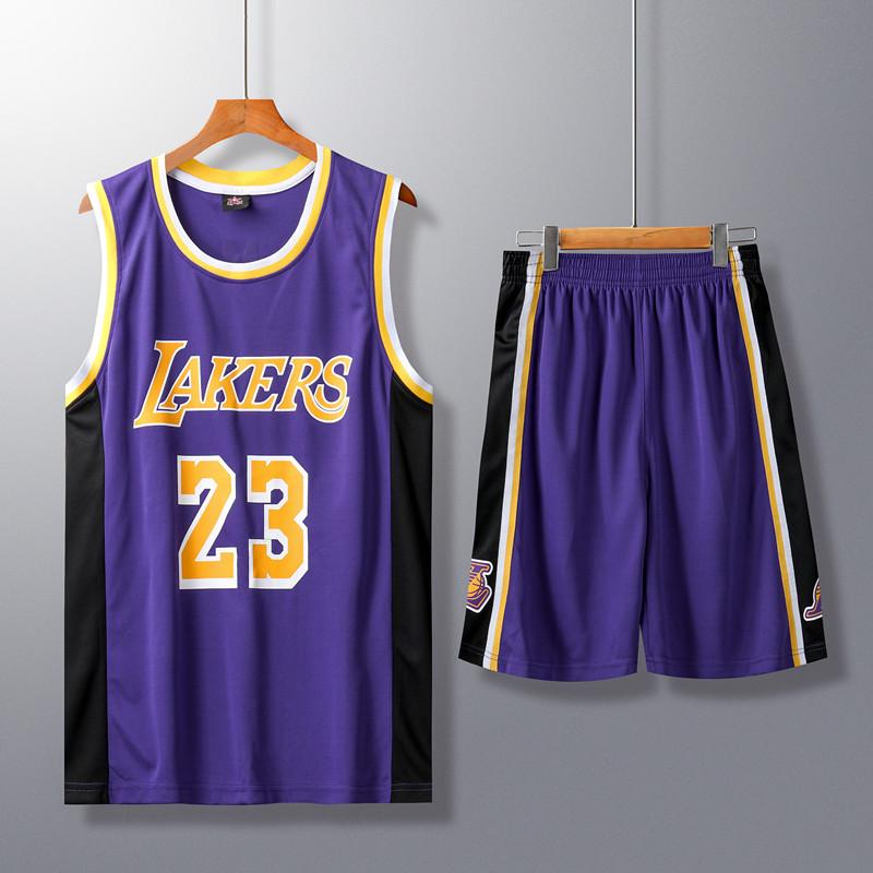 23号球衣3号戴维斯城市版库兹马男女ins热压篮球服
