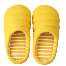Children's cotton slippers autumn boy soft bottom indoor antiskid female children 1 to 3 years old baby 5 shoes that occupy the home parent-child slippers in winter
