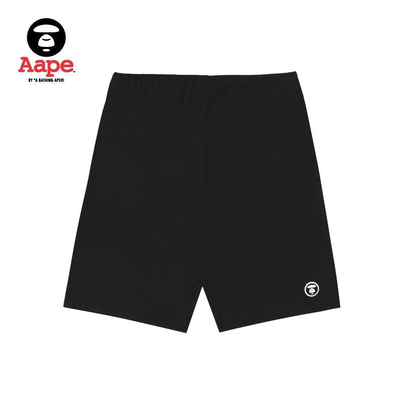Aape男装春夏简约猿颜徽章字母印花潮流休闲短裤6507XXC