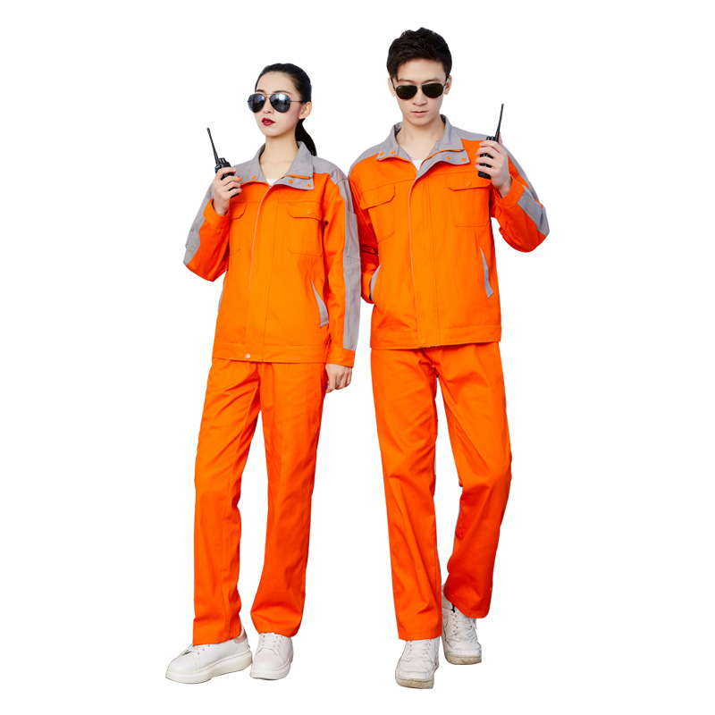 Overhaul clothes long sleeved autumn and winter repair work clothes hydraulic engineering electrician uniforms gas station tooling gas filling tooling