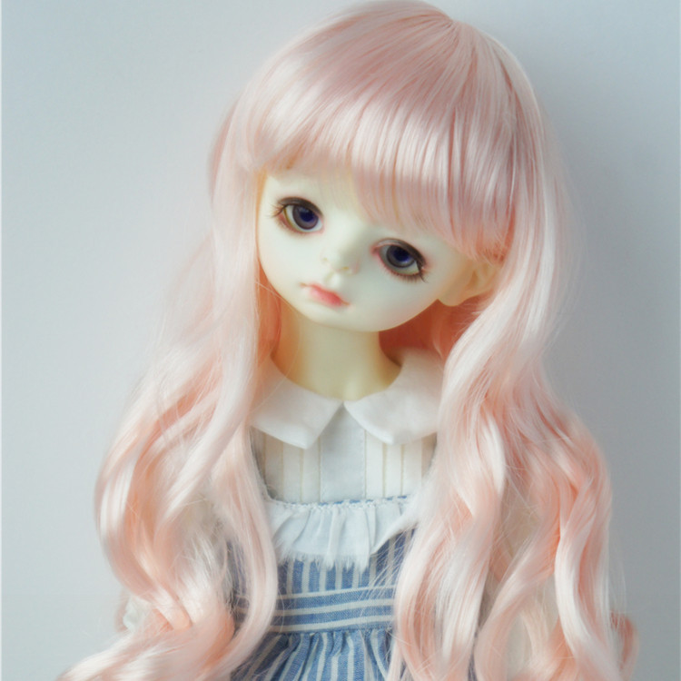 4 points BJD / SD baby wig imitation Mohair long wave curl Meida (jd148) BJD wig