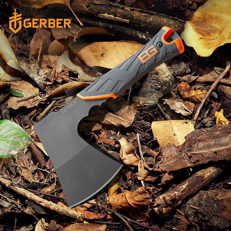 美国戈博GERBER贝尔户外求生斧便携式短斧头伐木斧战斧野营斧