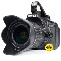 Nikon Nikon D5300 set machine 18-55 lens SLR Entry-level HD digital Travel camera