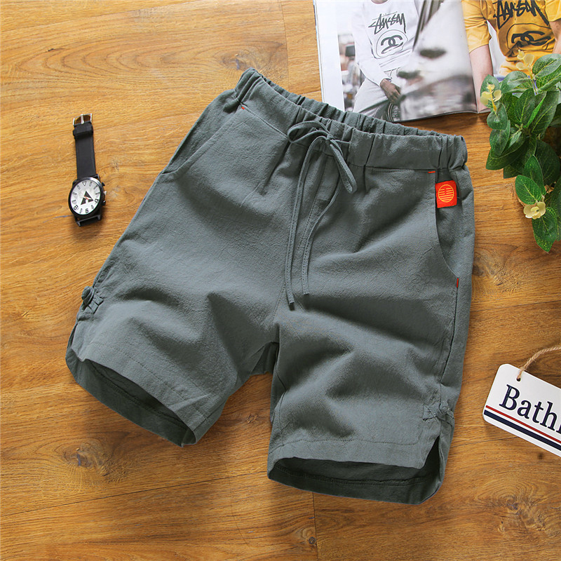 Summer Shorts men's loose outside big underpants sports 5-point pants fashion casual beach pants large 5-point pants