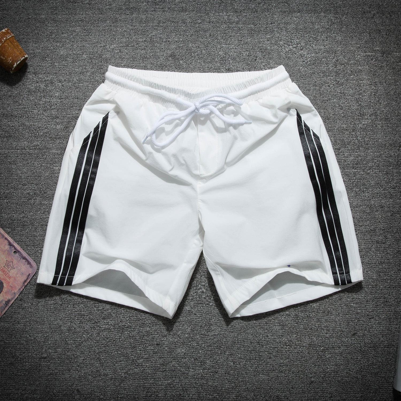 タオバオ仕入れ代行-ibuy99|宽松裤男|夏季薄款三条杠短裤男士运动裤速干弹力青少年休闲宽松时尚三分裤