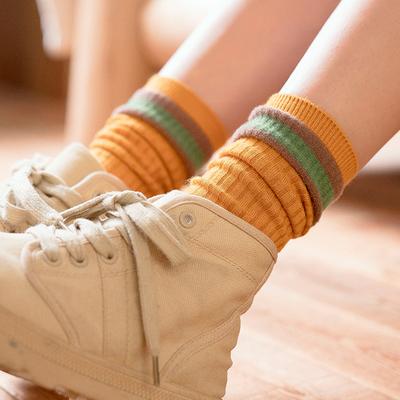 袜子女堆堆袜秋冬保暖长袜高腰袜子韩版外穿学生袜子女中筒ins潮