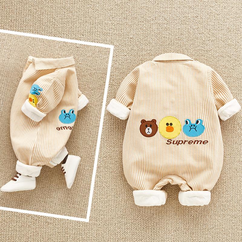 五折促销婴儿衣服秋装幼儿网红抖音可爱哈衣