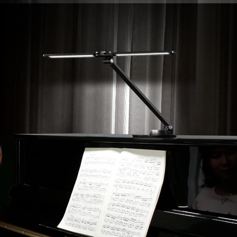 led钢琴灯落地台灯护眼卧室床头灯ins高亮乐谱灯钢琴灯练琴专用灯