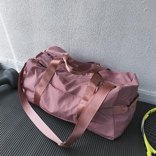奔跑吧卡卡健身运动包女干湿分离训练包大容量手提网红短途旅行包
