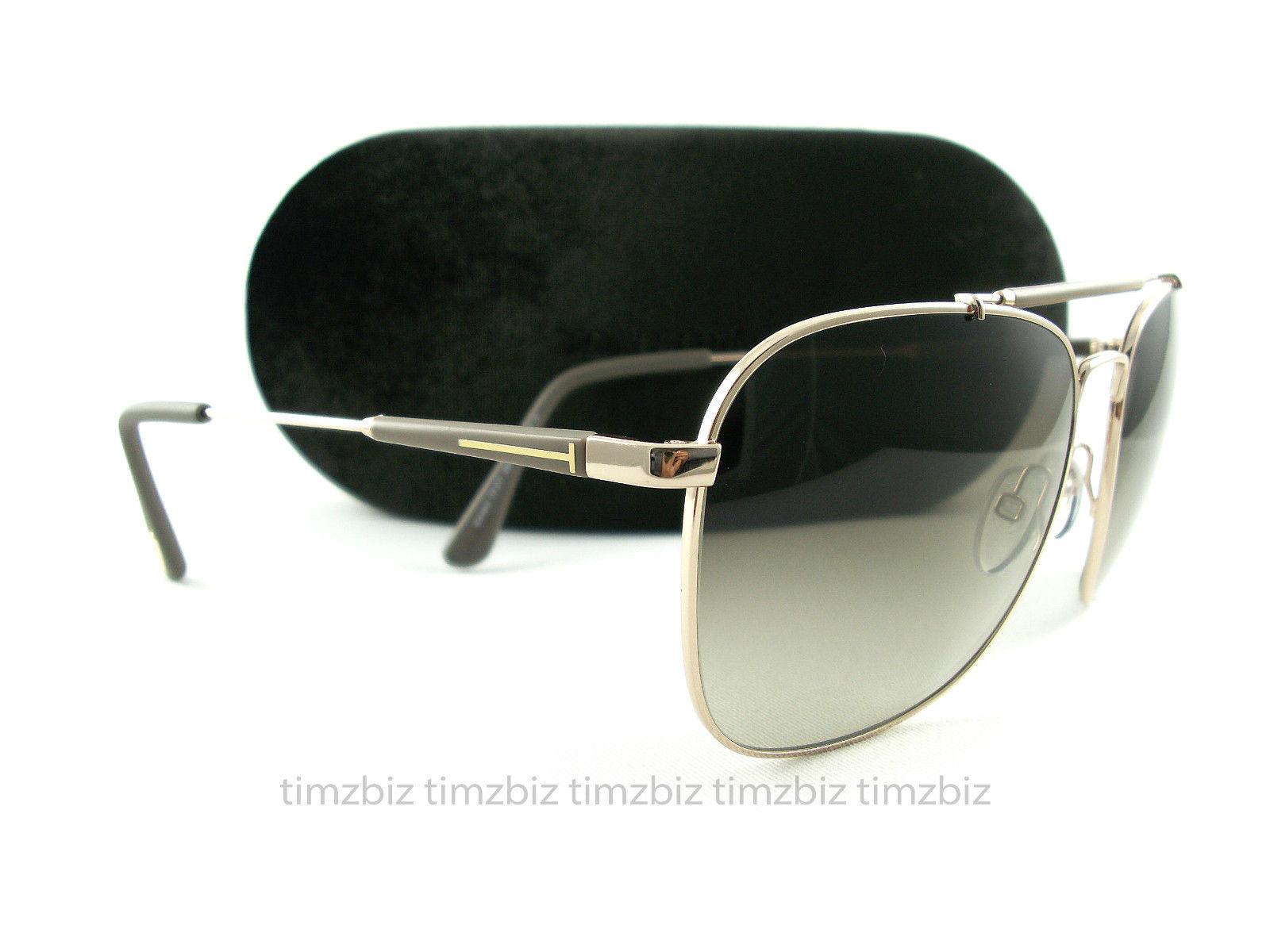 Tom Ford Sunglasses tf377 Edward 28K golden brown ft0377 / s sunglasses for men and women