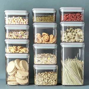 安扣食品级厨房香料辅食奶粉收纳罐