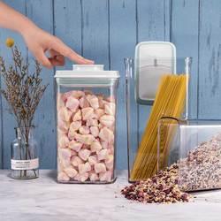 推荐!安扣大容量密封罐塑料米桶防虫防潮密封杂粮储物收纳罐桶