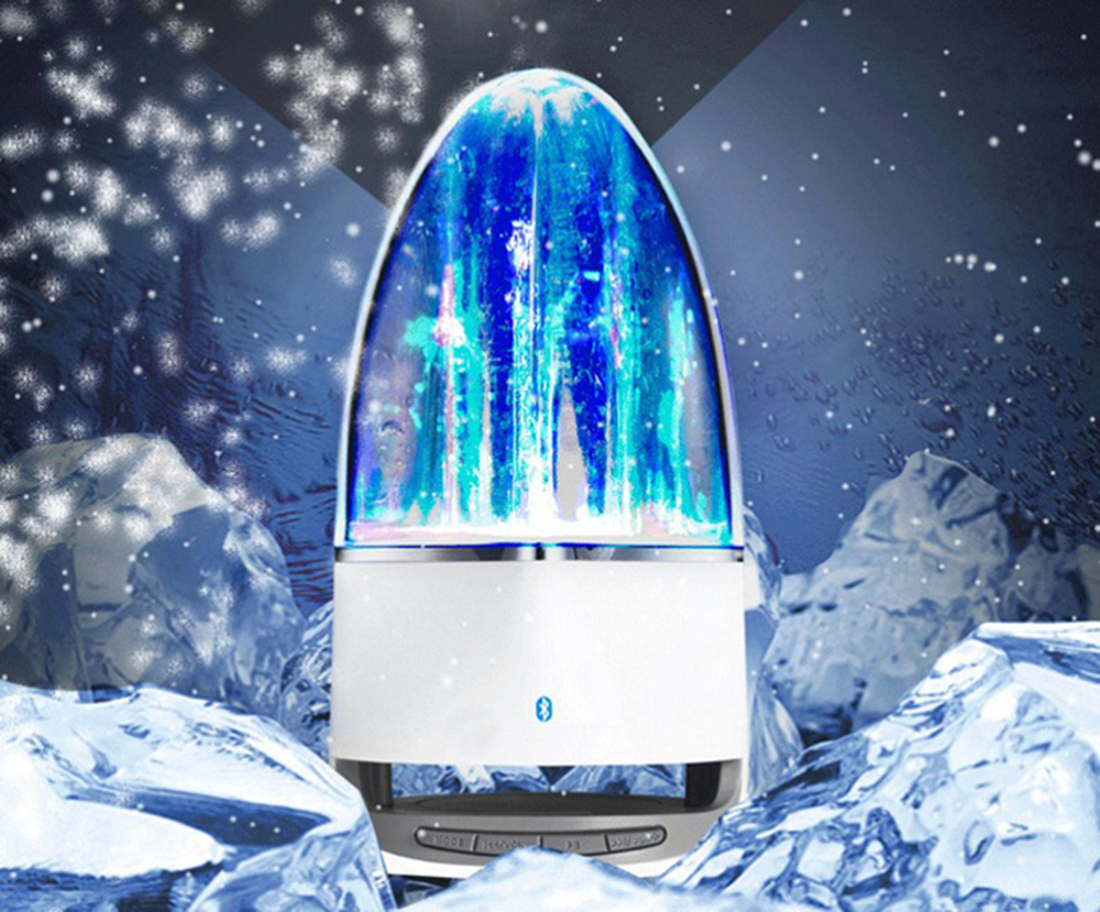 LED Music Fountain Water Dance Bluetooth Speaker Audio