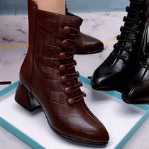 电影431DD9天美意冬款商场同款街头休闲袜靴女短靴品牌清仓