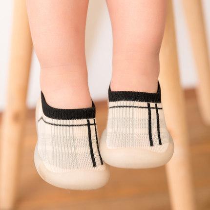 夏季宝宝地板学步鞋浅口隐形地板袜